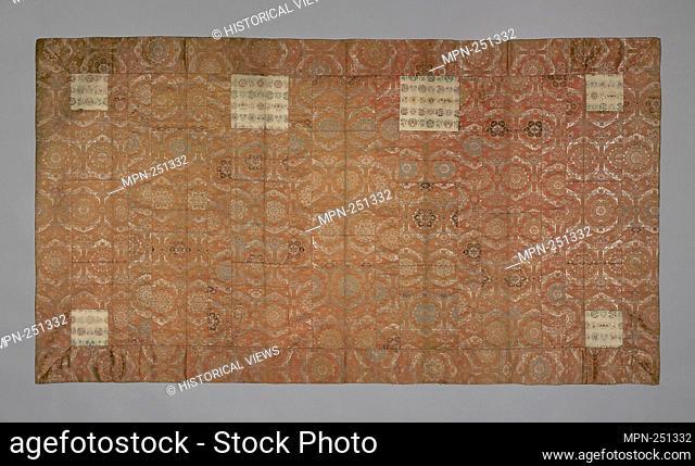 Kesa - Edo period (1615–1868), late 18th century - Japan - Origin: Japan, Date: 1775–1800, Medium: Silk and gold-leaf-over-lacquered-paper strip