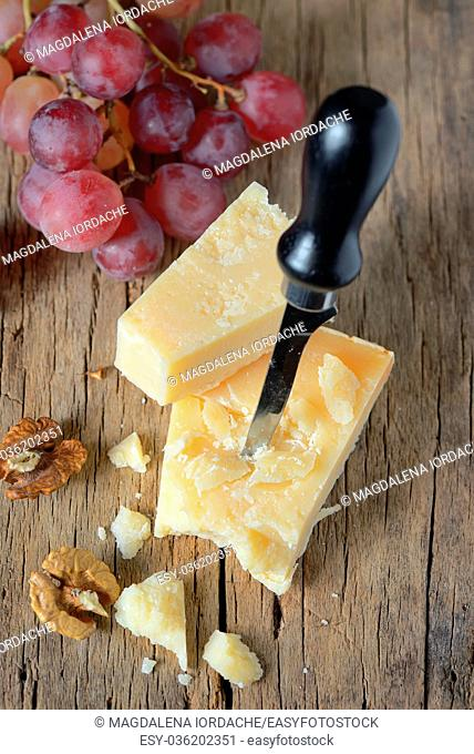 Grana padano- Chunk of parmesan cheese