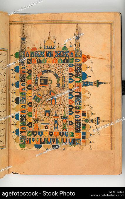 Futuh al-Haramayn (Description of the Holy Cities). Author: Muhi al-Din Lari; Object Name: Illustrated manuscript; Date: 16th century; Geography: Country of...