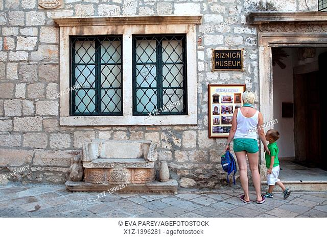 The old town of Korkula Croatia