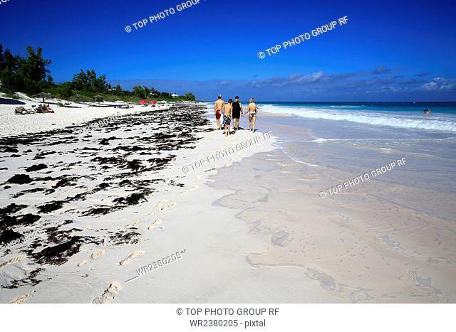 North America the Bahamas Island Paradise sand beach