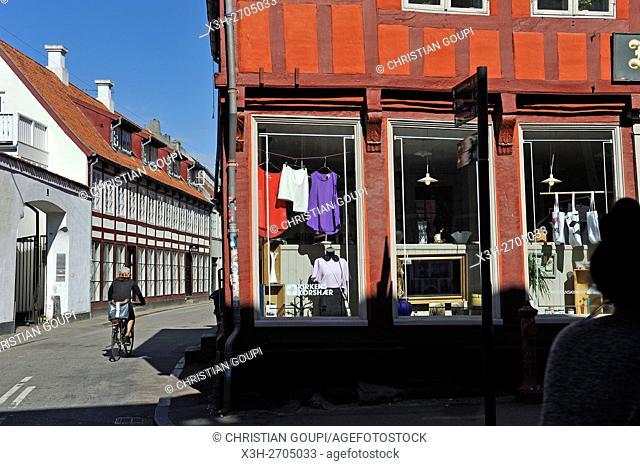 Mejlgade street, Aarhus, Jutland Peninsula, Denmark, Northern Europe