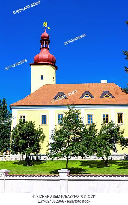 palace in Straz nad Nezarkou, Czech Republic
