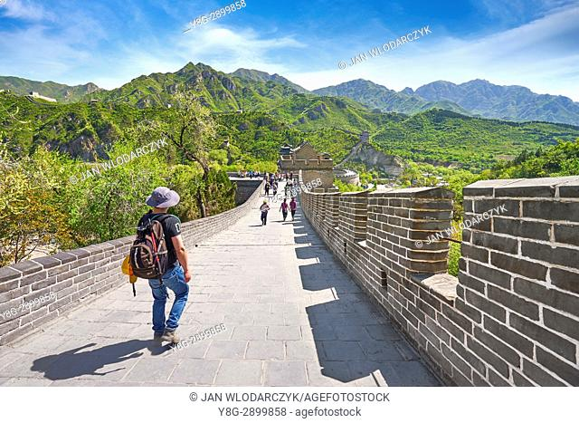 The Great Wall of China, UNESCO World Heritage Site, Beijing District, China