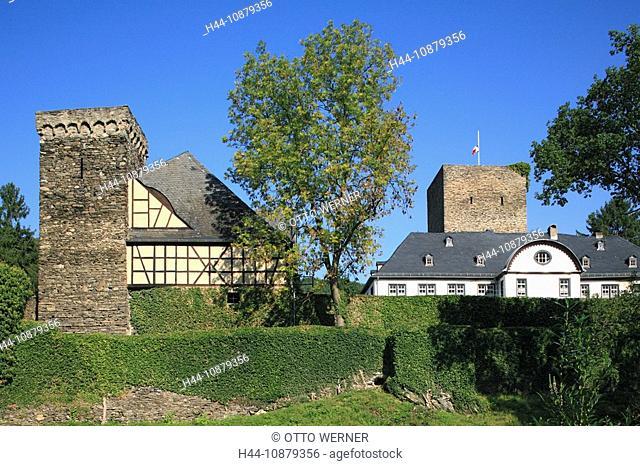 Schloss Langenau in Obernhof, Lahn, Rheinland-Pfalz