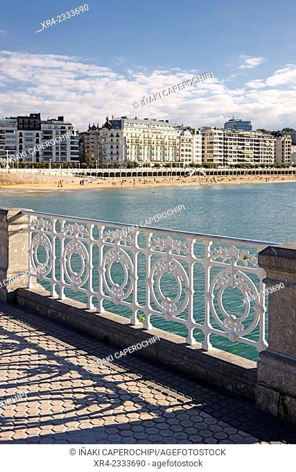 Hotel Londres, Donostia (San Sebastian), Gipuzkoa, Basque Country, Spain