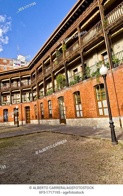 Plaza of Viejo Coso, 1833 Bullring, Valladolid, Castilla y León, Spain, Europe