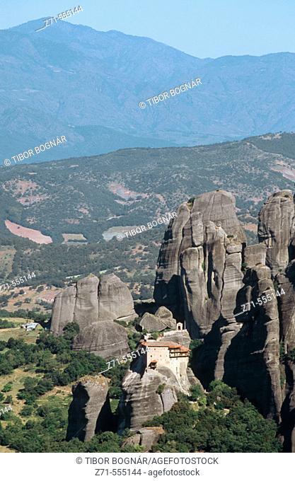 Agios Nikolaos monastery. Meteora. Greece