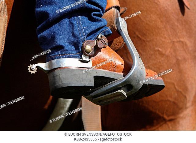 Australian Cowboys at the annual Lang Lang Rodeo. Victoria, Australia