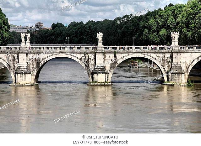 Sant Angelo Bridge, Rome