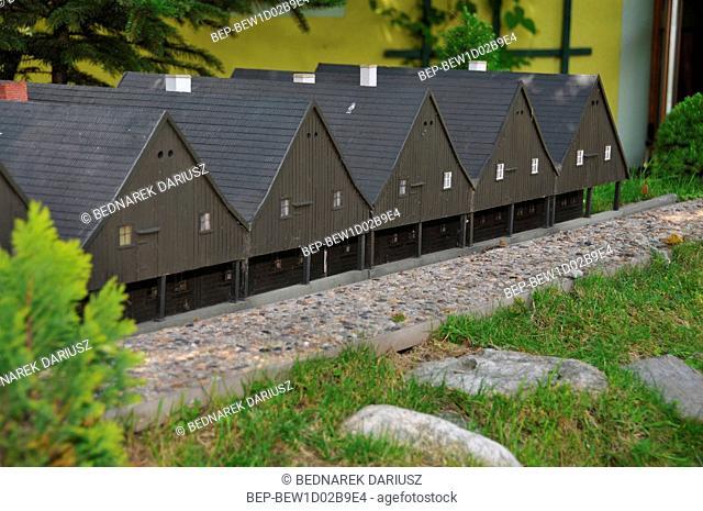 Park of Miniatures of Lower Silesia Monuments. Kowary, Lower Silesian Voivodeship, Poland