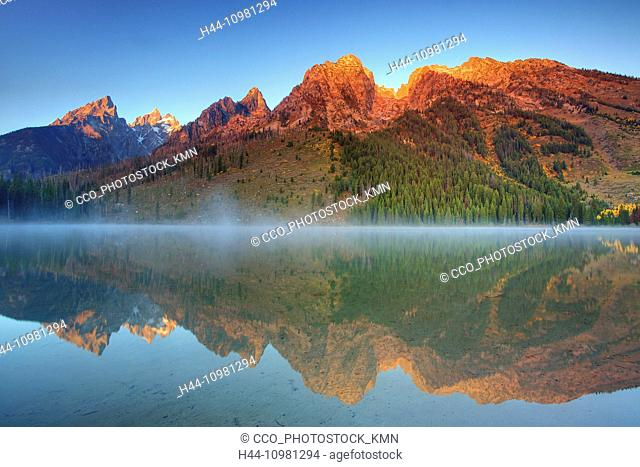 lake in the Rocky Mountains