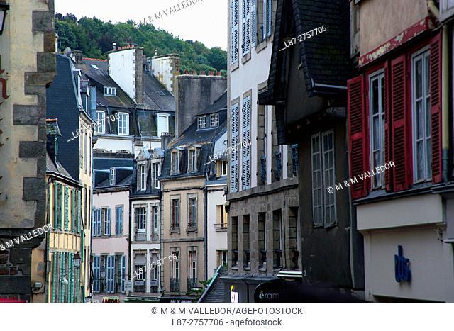 LE CONQUET, FINISTERRE, BRETAGNE, FRANCE