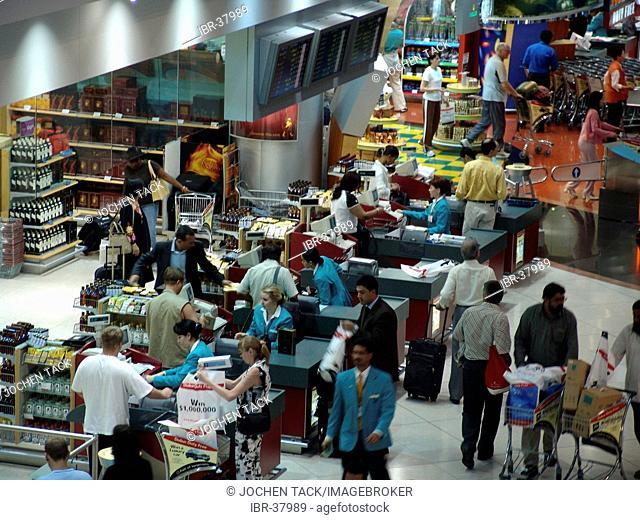 ARE, United Arab Emirates, Dubai : International Ariport, heikh-Rashid-Terminal, Duty Free Shops