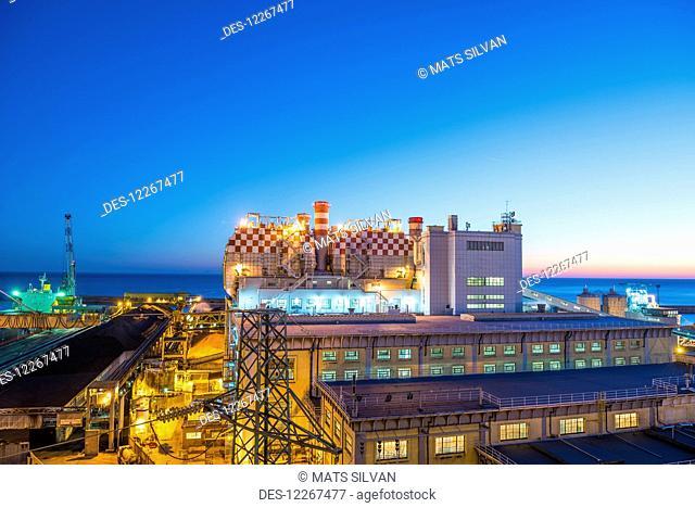 Thermal Power Plant; Genoa, Liguria, Italy