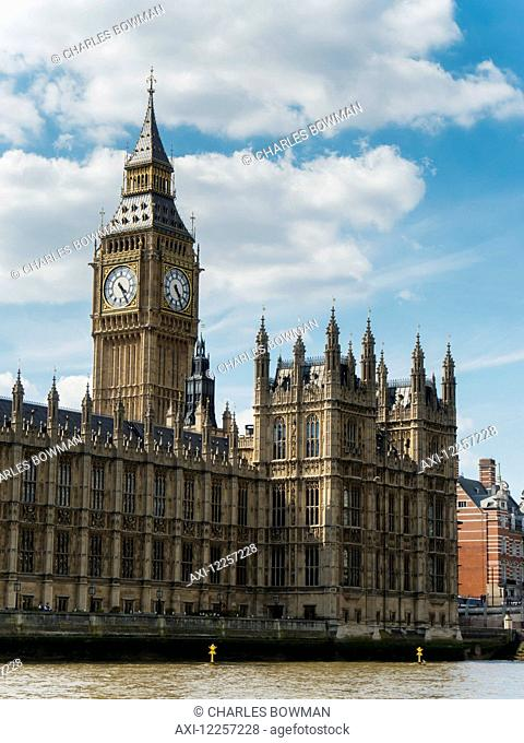 Houses of Parliament, Westminster; London, England