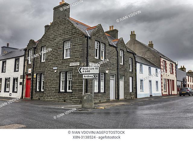 Port Ellen, Islay, Inner Hebrides, Argyll, Scotland, UK