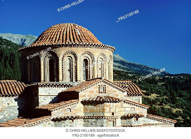 Saint Theodore's Byzantine Church Mystras Greece