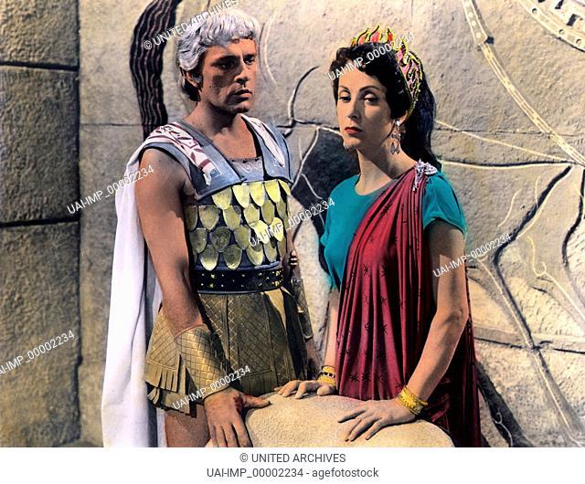 Alexander der Große, (ALEXANDER THE GREAT) USA 1956, Regie: Robert Rossen, RICHARD BURTON, DANIELLE DARRIEUX