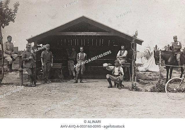 First World War: soldier blacksmith, shot 1915-1918