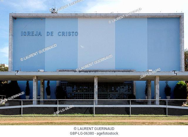 Church Christ, South Wing, city, Distrito Federal, Brasília, Brazil