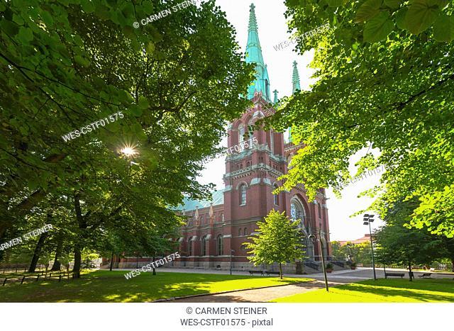 Finland, Helsinki, German church