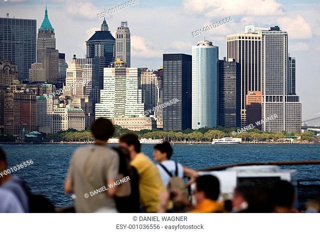 Panorama von Manhattan
