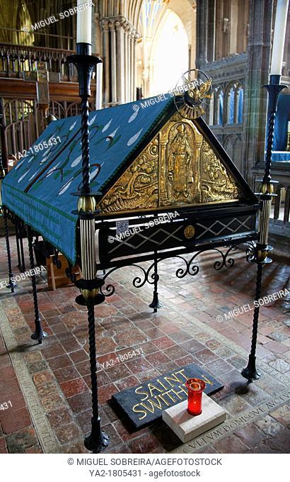 Winchester Cathedral Saint Swithun Shrine - Hampshire UK