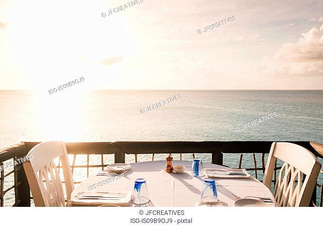 Sheer Rocks Restaurant outside of Jolly Harbour, Buckleys, Saint John, Antigua