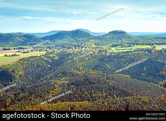hills in saxony