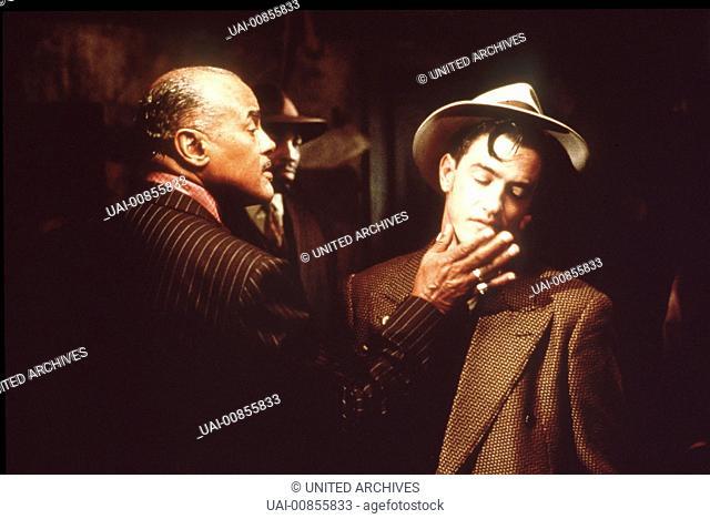 Szene mit Seldom Seen(HARRY BELAFONTE) und Johnny O'Hara(DERMONT MULRONEY). Regie: Robert Altman aka. Kansas City / KANSAS CITY USA 1996