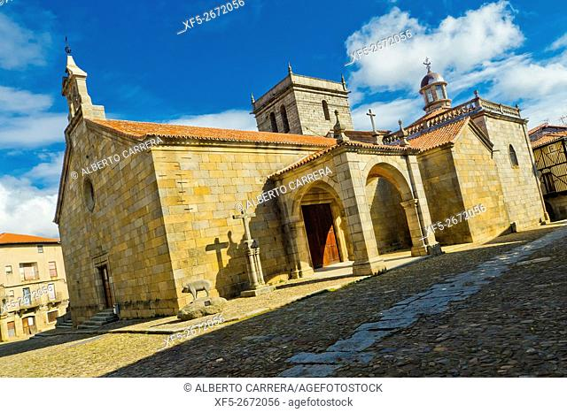 Nuestra Señora de la Asunción Parish Church, 18th century, Medieval Town, Historic Artistic Grouping, Spanish Property of Cultural Interest, La Alberca