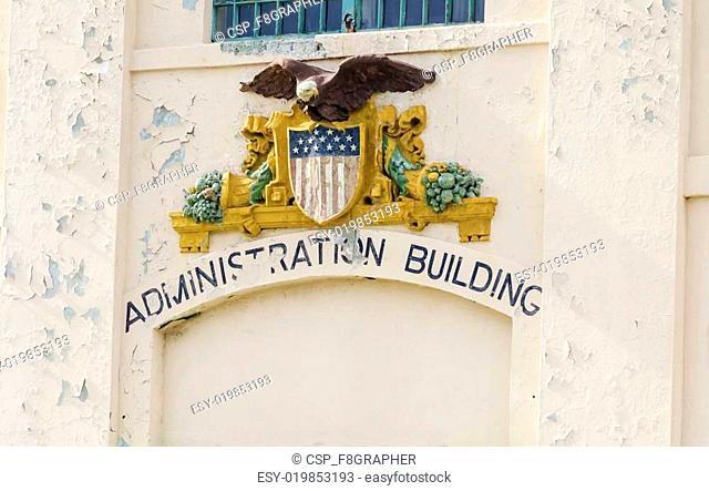 Alcatraz Administration Building, San Francisco, California