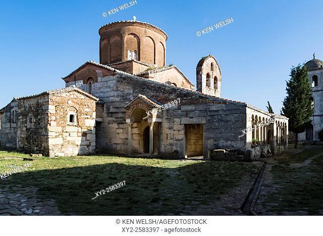 Apollonia, or Apoloni, Fier Region, Albania. Thirteenth century monastery and Church of St Mary or Shen Meri