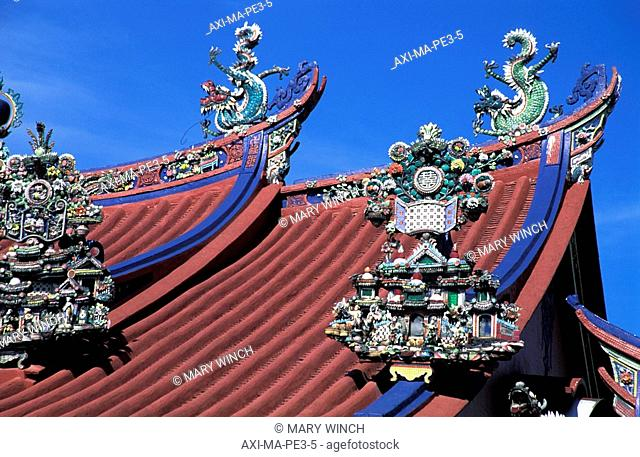 Roof of Goddess of Mercy Temple
