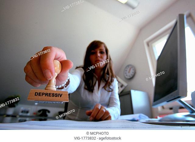 Stamp depressive - 01/01/2009