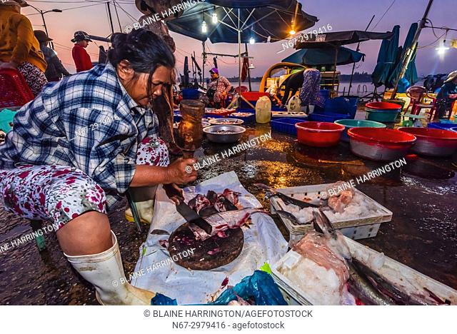 86a7abb83cb Fish market at sunrise