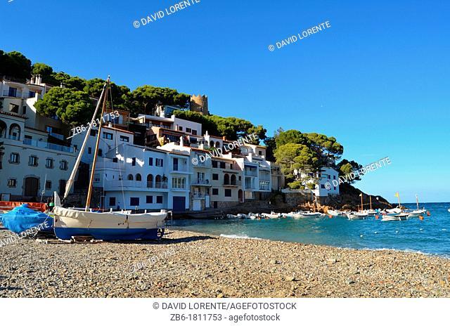 Sa Tuna Begur coast Catalunya