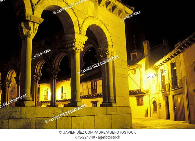 San Lorenzo's Church. Segovia. Castilla y León. Spain