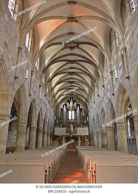 Romanesque cathedral St. Paul Esslingen am Neckar Baden Wuerttemberg Germany
