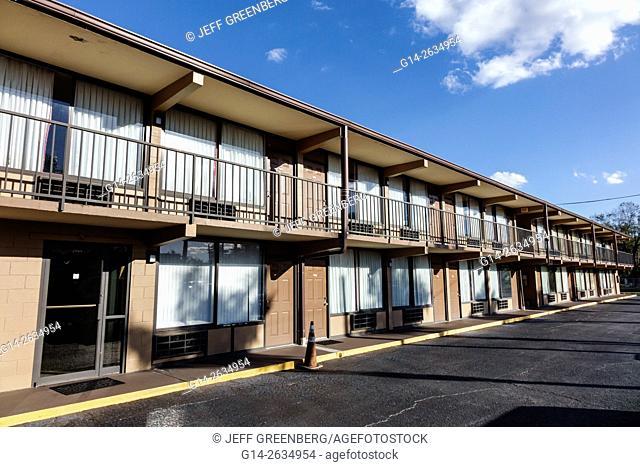 Florida, FL, Orlando, Kissimmee, Lambert Inn, budget motel, exterior
