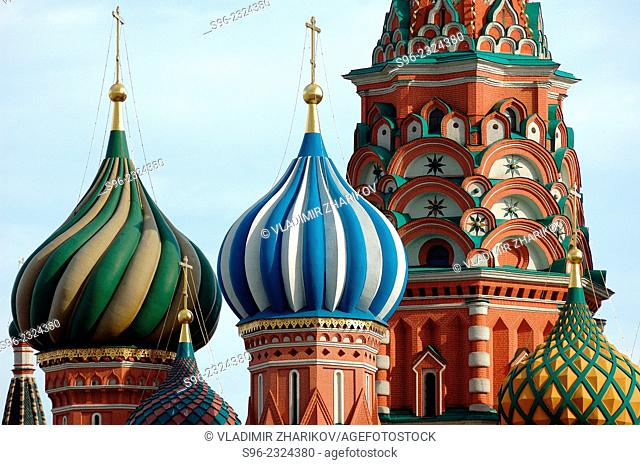 Temples of Moscow, Russia