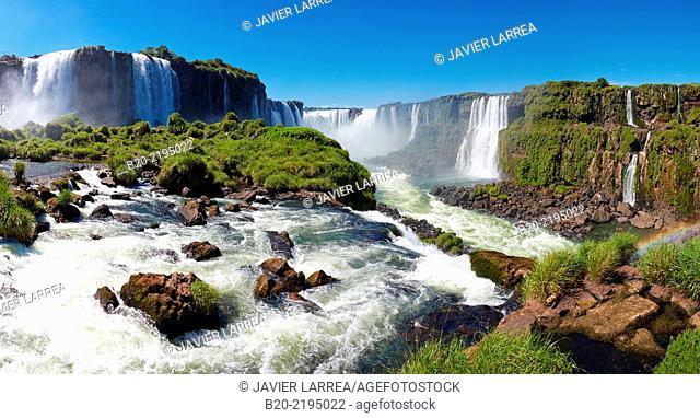 Iguazœ Falls National Park. Misiones Argentina. Iguau. Paran‡. Brasil