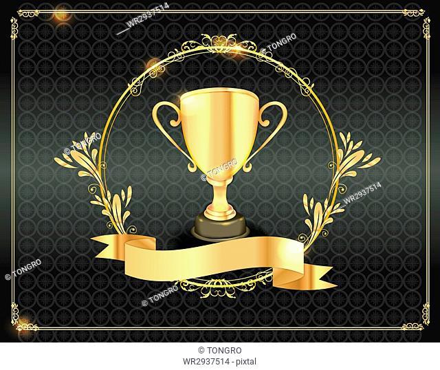 Luxurious certificate of award