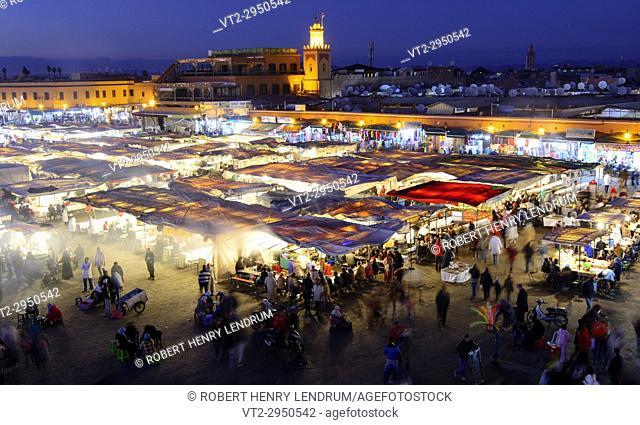 Djemma El Fna Square, Marrakech, Morocco