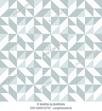 Abstract seamless pattern with grey triangle. Vector illustration