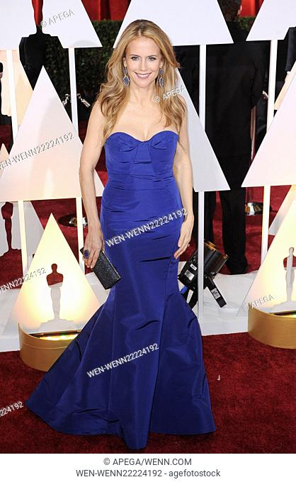 The 87th Annual Oscars held at Dolby Theatre - Red Carpet Arrivals Featuring: Kelly Preston Where: Los Angeles, California