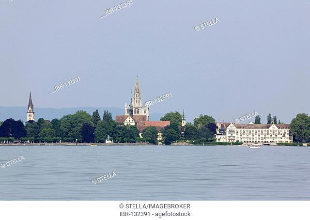 A view on Konstanz, Baden-Wuerttemberg, Germany