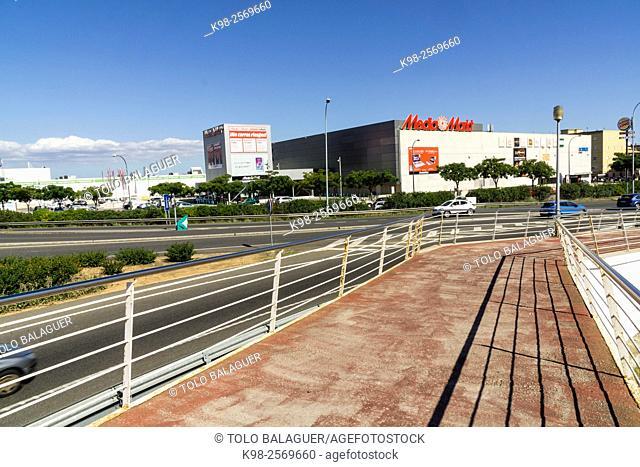 superficie comercial, Media Markt, Majorca, Balearic Islands, Spain