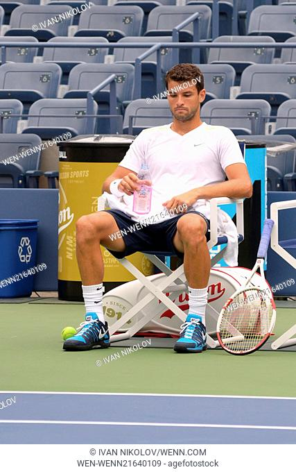 2014 Arthur Ashe Kids' Day - Show Featuring: Grigor Dimitrov Where: Queens, New York, United States When: 24 Aug 2014 Credit: Ivan Nikolov/WENN.com